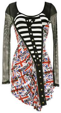 Union Jack Punk Dress